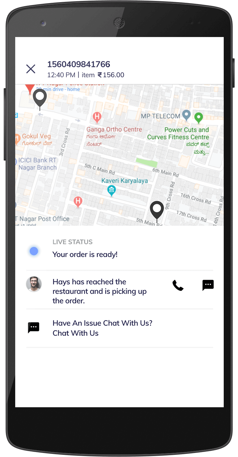 talabat food delivery clone