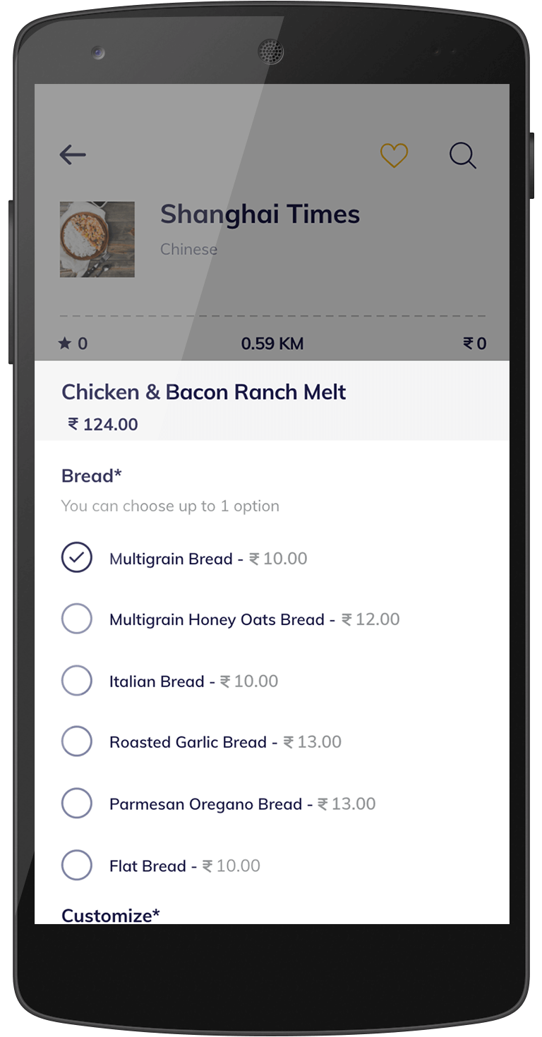talabat food delivery software